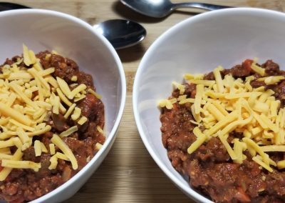 Chili…Hold the Beans