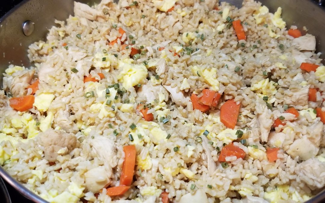 Easily Done Chicken Fried Rice